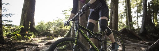 Frenado para mountain bike