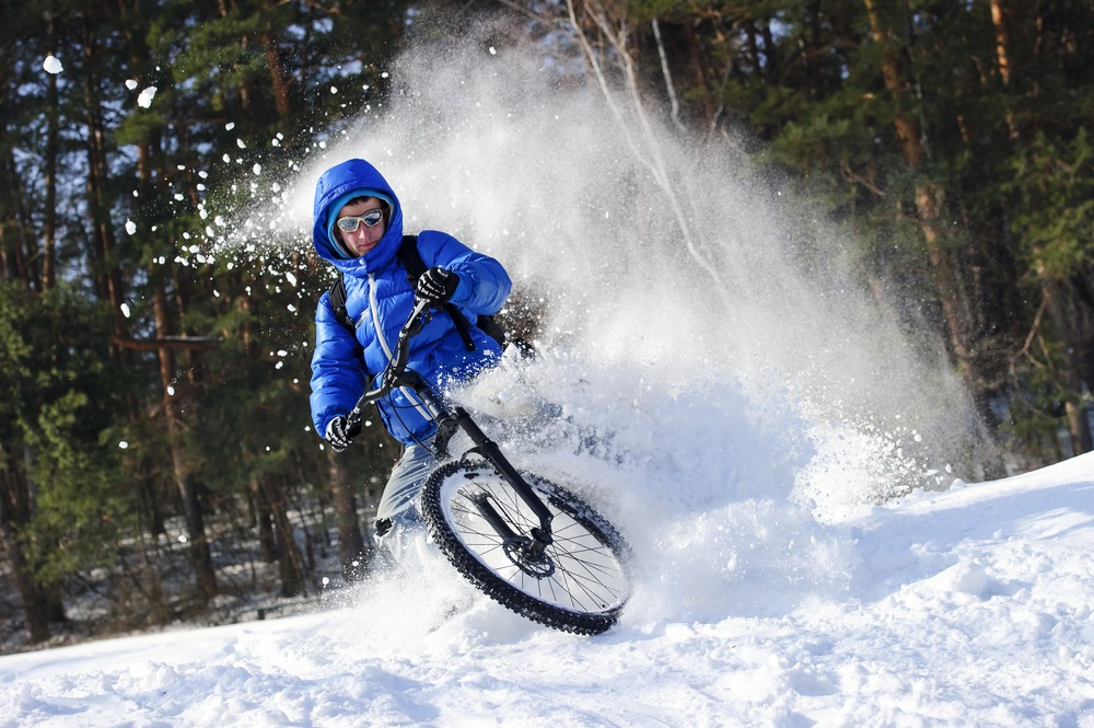 Winter Biking Technique